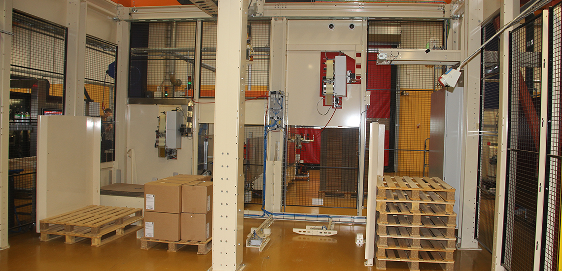 Packaging and palletizing solution at Mac Baren