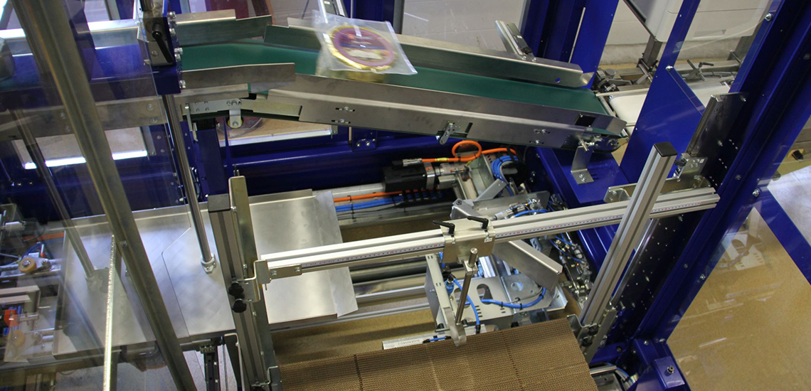 EGApacker for cheese packing  - Egatec Packaging Int.
