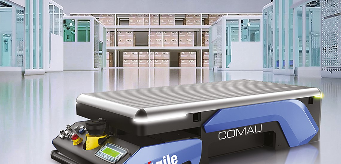 AGV Agile1500 - Egatec Packaging Int.